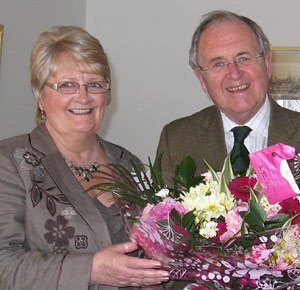 Barbara Penrose and Sir Alan Beith MP