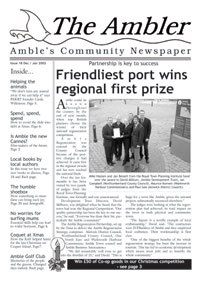Front page of The Ambler Jan 2002
