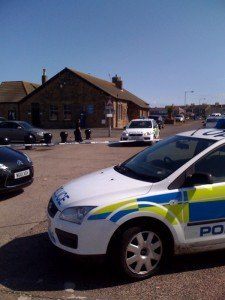 bomb scare at Amble Harbour