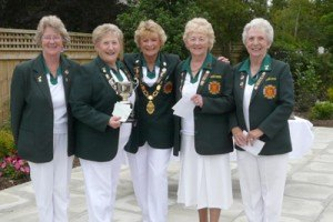 Amble Ladies Bowls Team