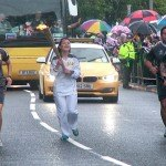 Lisa French carried the torch through the rest of Amble