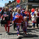 A procession was held to mark the Queen&#039;s Jubilee