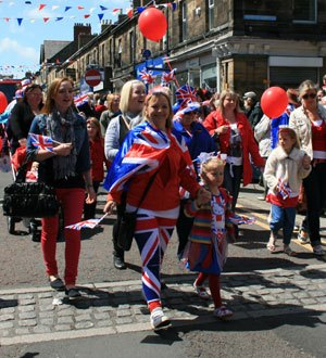 Jubilee procession