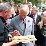 Prince Charles sampled Spurreli ice cream