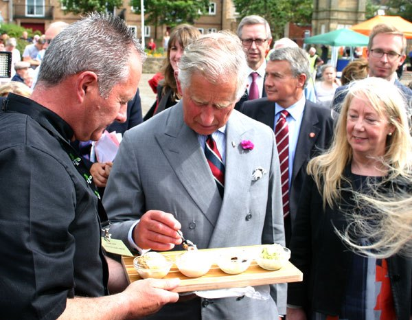 HRH samples icecream