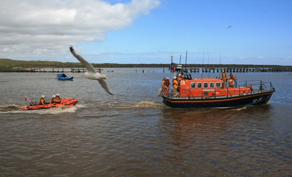 Lifeboat display
