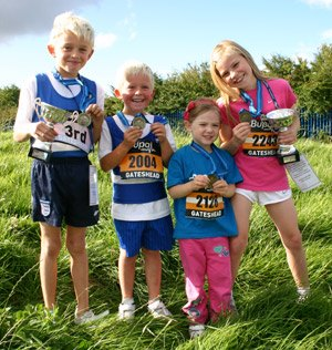Junior GNR runners