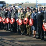 Remembrance Day was very well supported, bringing thanks to the town from the British Legion and ex servicemen