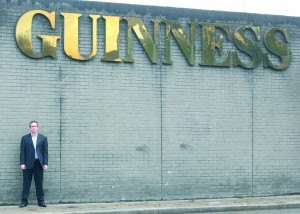 Bruce at Guinness smaller image