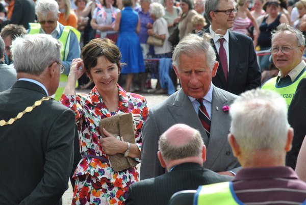 Prince Charles, Duchess of Nland visit Amble (SM)