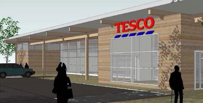 The new Tesco store plans to employ up to 150 people