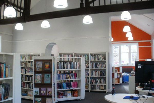Library reopens after refurbishment
