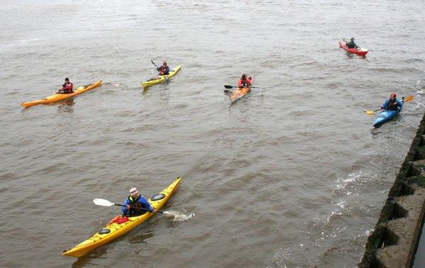 Shorebase Trust canoes