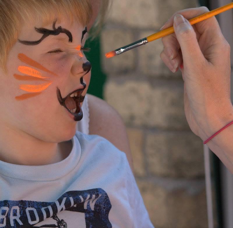 tiger face (FH)