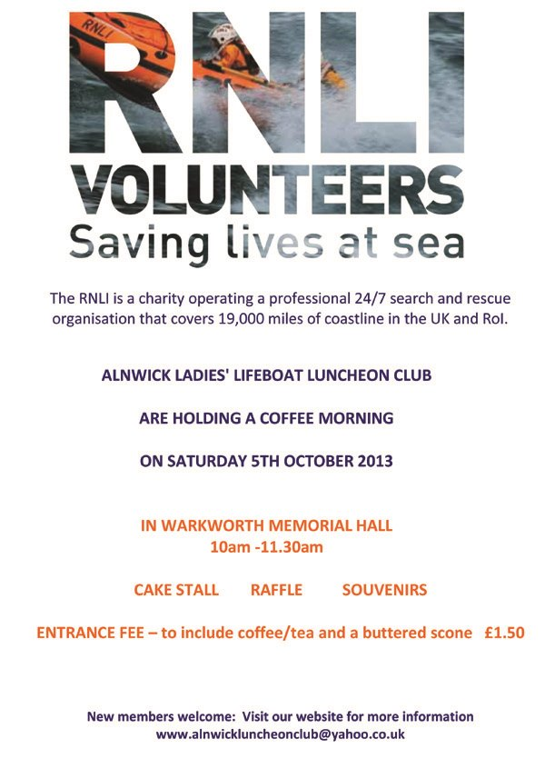 COFFEEMORNINGPOSTER RNLI copy
