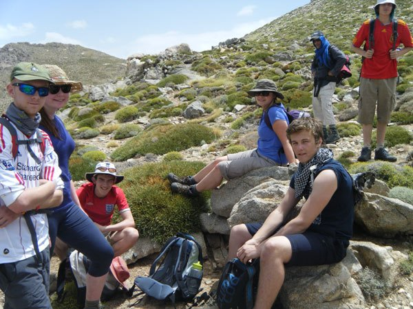 Members of Coquet Youth Team took part in a week long trek in Morocco