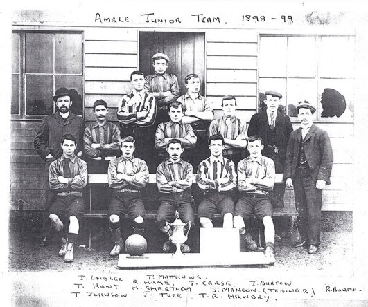 Amble Juniors 1898-99