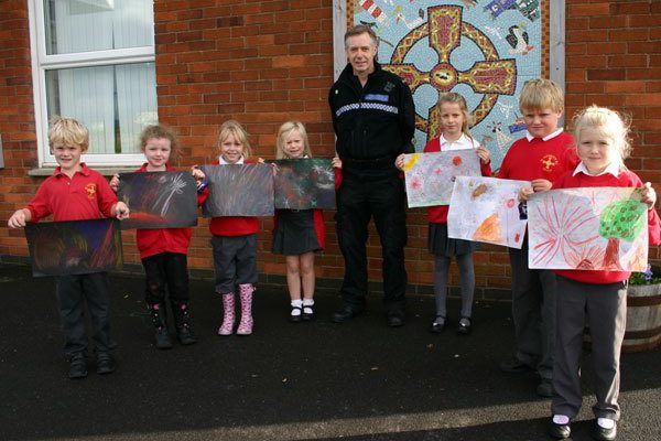 Bonfire safety message winners