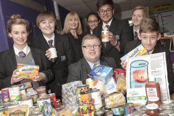 """Amble food parcels """"kept homeless alive"""""""