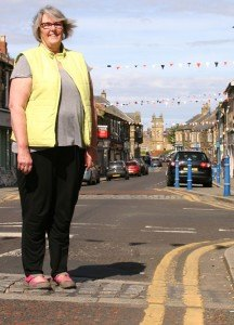 Ann is the new chairperson of Amble Business club