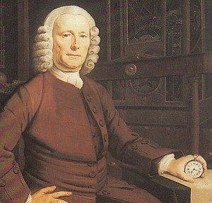 John Harrison John Harrison with the Longitude prize  winning watch