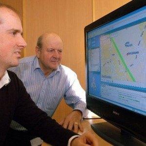 Phil Derry and his son Simon are John Harrison's direct descendants