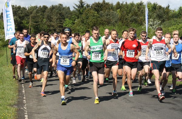 400 runners took part in this year's race