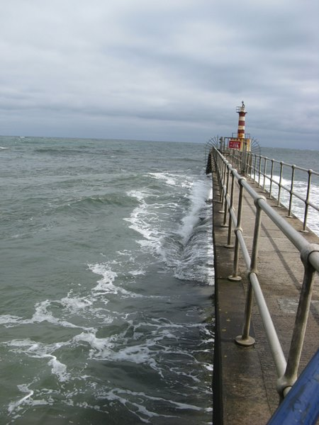 Swell from the pier