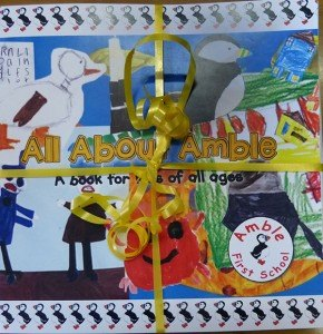 "The ""All About Amble"" book has been created by local children for the whole community"