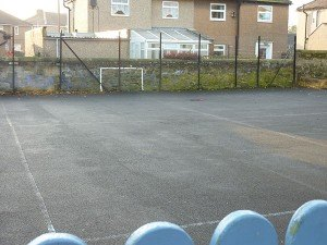 The playground at Edwin St. School