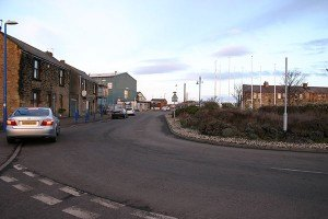 One-way-at-Coquet-St