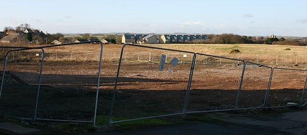 The site for the 30,000 sq ftTesco store was not universally popular with local residents.