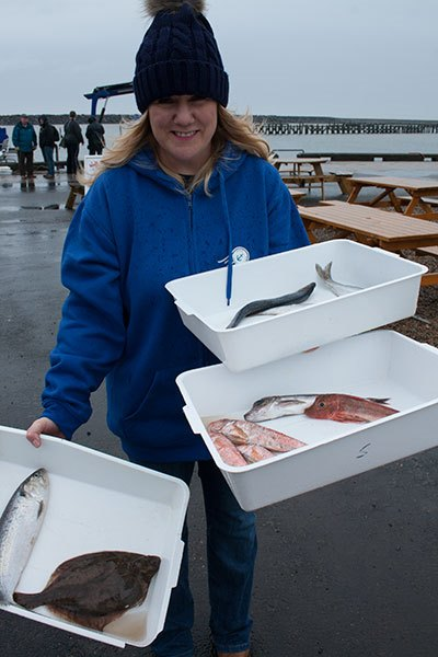 Helen-with-fish