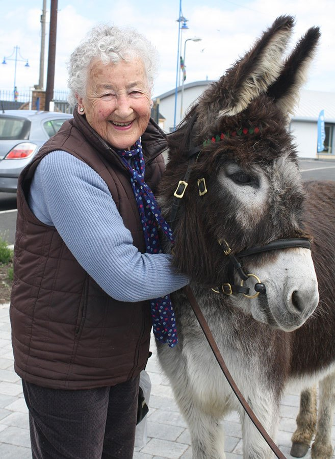 Lady-with-Nellie-the-donkeyBR