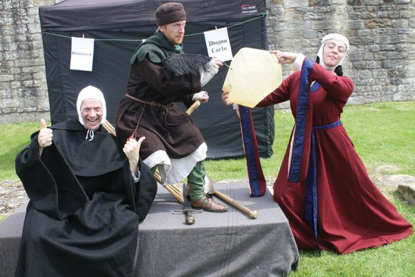 Medieval revelry: Magna Carta at Warkworth