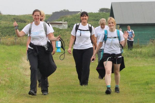 Save the memories 2015 coastal charity walk