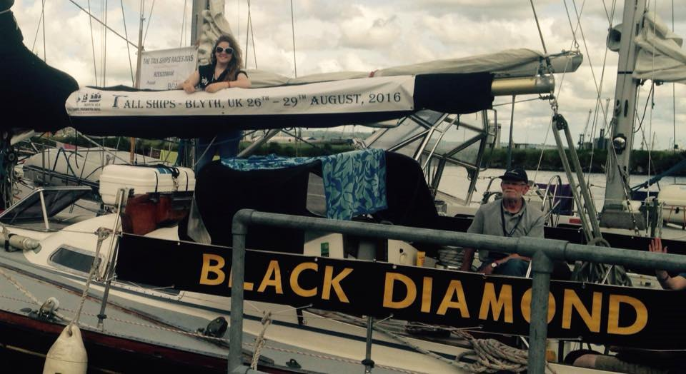 Emily has enjoyed her time on the Tall Ship Black Diamond