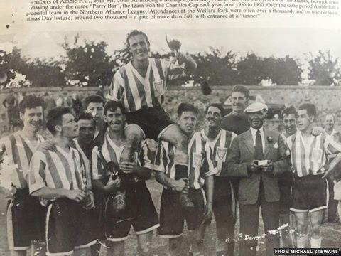 Amble football team- credit Michael Stewart
