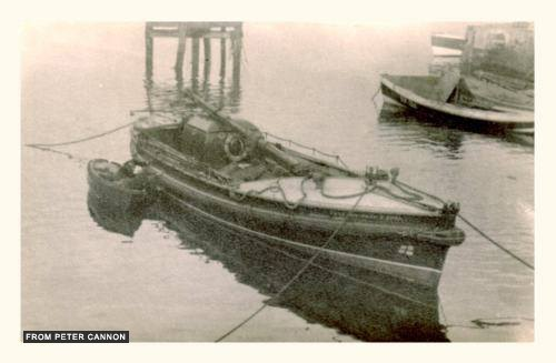 Amble lifeboat 1949- credit Peter Cannon