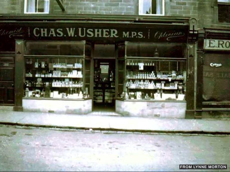 Usher's the Chemist- credit Lynne Morton