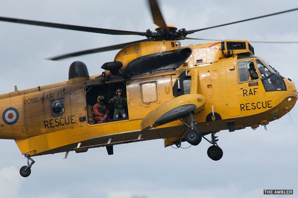 Sadness as Sea Kings leave RAF Boulmer