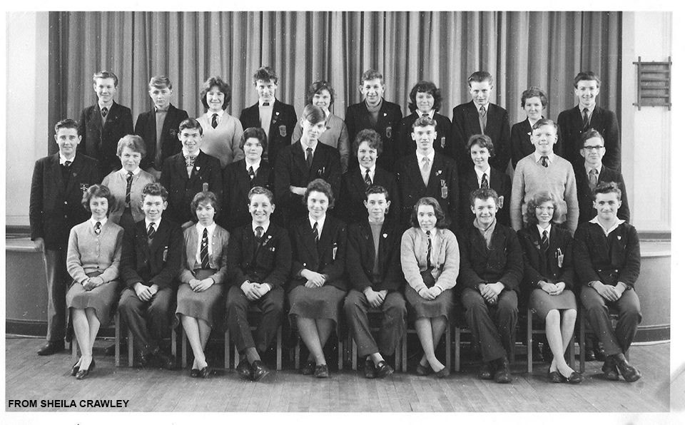 Amble Modern School 1961- credit Sheila Crawley