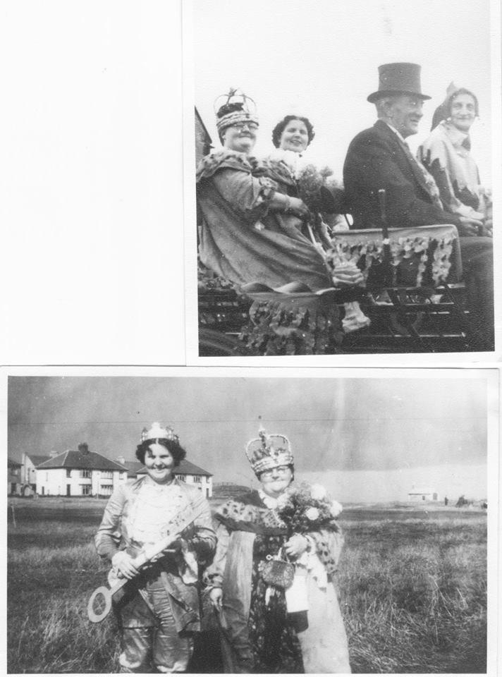 Carnival time 1950s - Miss Usher