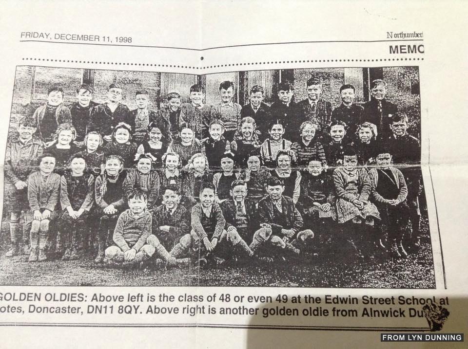 Edwin Street School 1948-49- credit Lyn Dunning