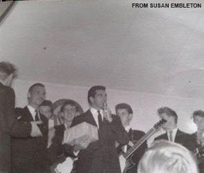 Frankie Vaughan at the Boys Club- credit Susan Embleton