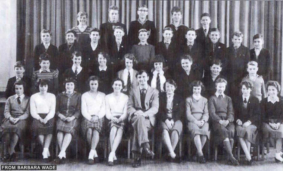 Modern School 1957-58- credit Barbara Wade
