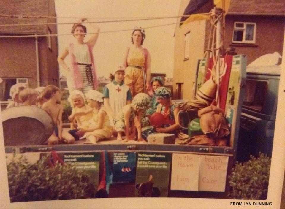 St Cuthbert's float- credit Lyn Dunning