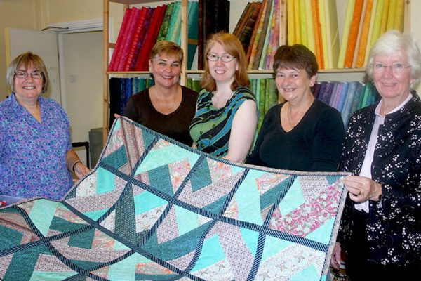 Creative patchwork group promote their skills and help local cause