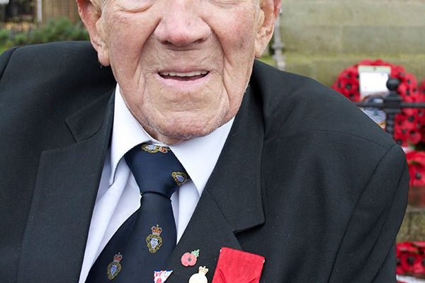 Amble veteran George Skipper receives Légion d'Honneur