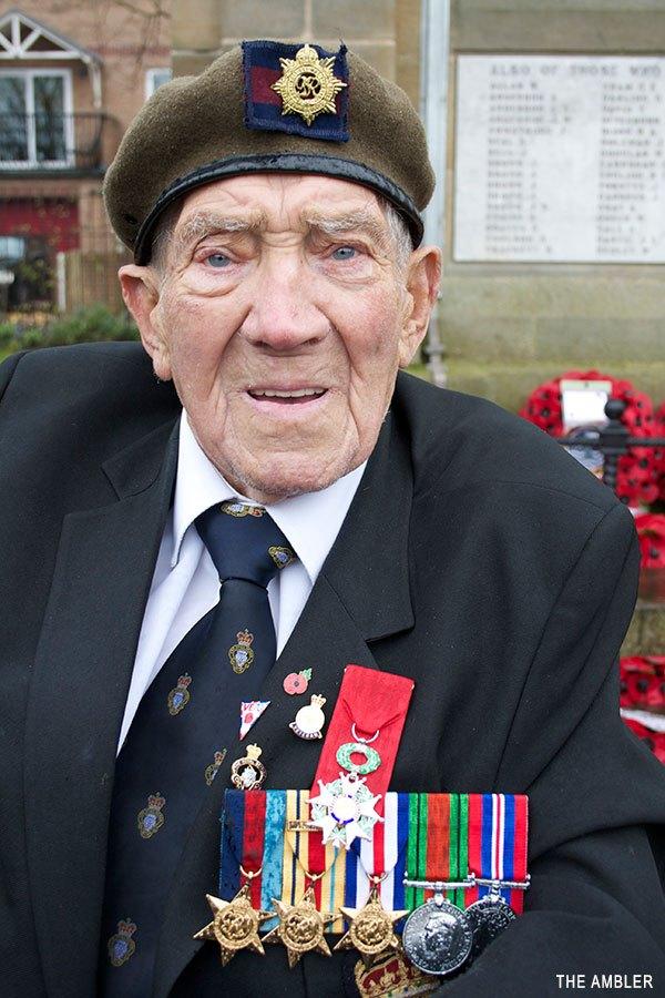 George Skipper with his Légion d'Honneur medal.